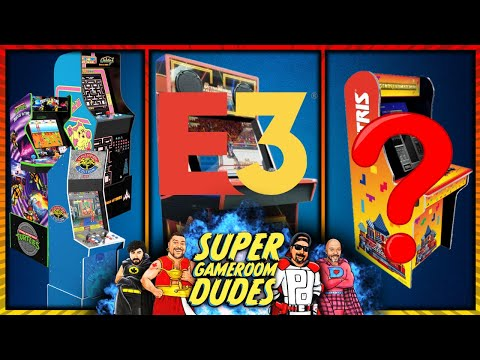 E3 2021 Day 1 - Arcade1Up and iiRcade Reveals! AtGames Leaks? | SGRD Ep. 43 from Super GameRoom Dudes