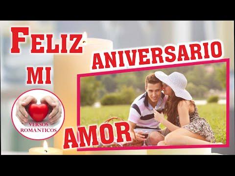 Feliz Aniversario mi Amor, Frases para Enamorar, Video Romantico, Dedicatorias de Amor, Detalles