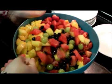 Recipe for Fresh Fruit Salad