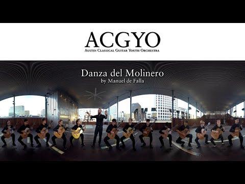 Danza del Molinero by Manuel de Falla - 360° Experience! | ACG Youth Orchestra
