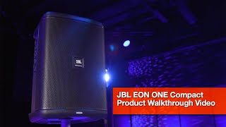 JBL EON ONE Compact: Product Walk-through