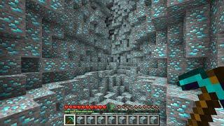 全ブロックがダイヤになった世界でダイヤチャレンジ【マイクラ】【縛り】