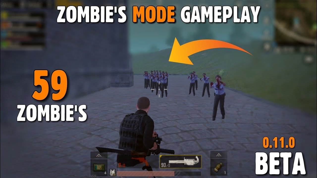 PUBG MOBILE: 0.11 Beta Zombie Mode Gameplay, Download 0.11