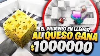 EL PRIMERO EN LLEGAR GANA 1,00,000$!! 🤑 - Skyblock con Hasvik #11