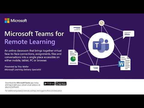 Microsoft Teams For Remote Learning
