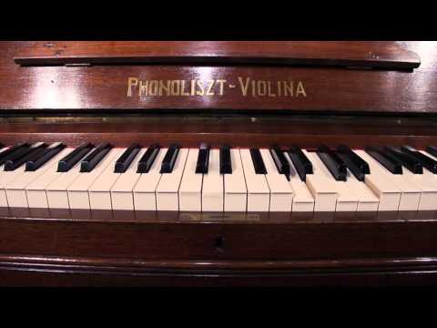 Hupfeld Phonoliszt-Violina Model B Music Cabinet