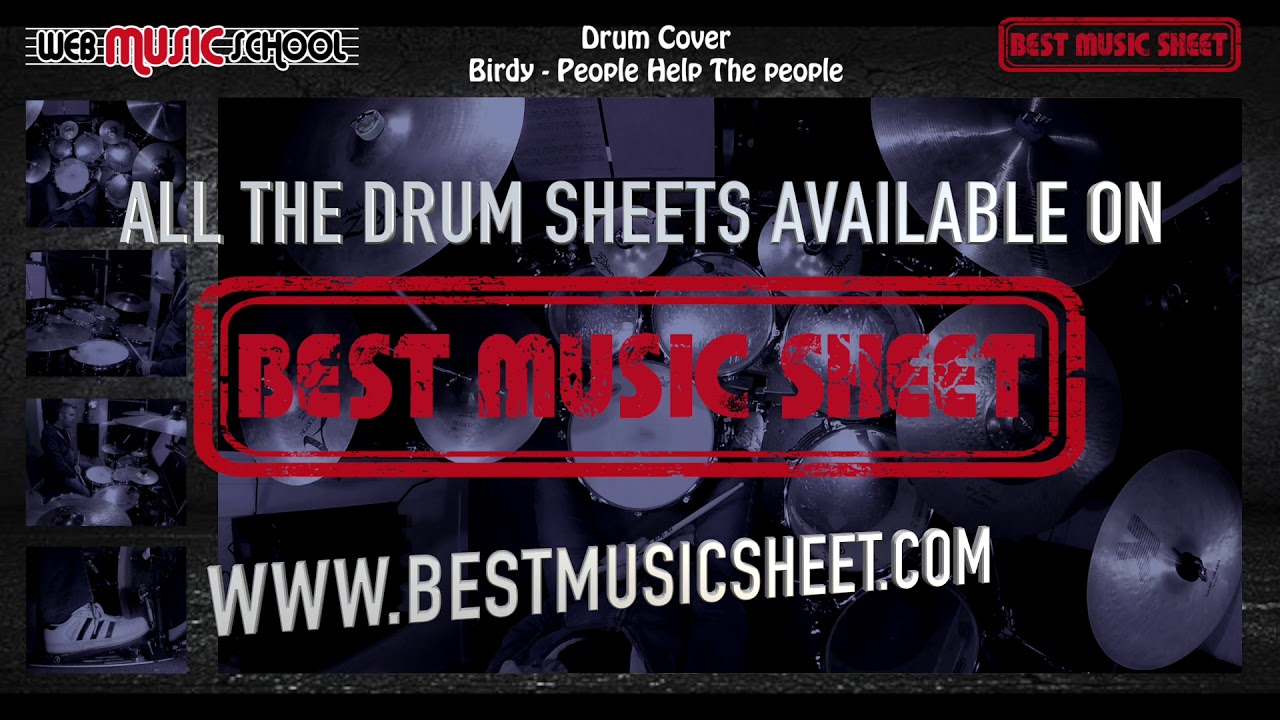 Birdy - People Help The People - DRUM COVER