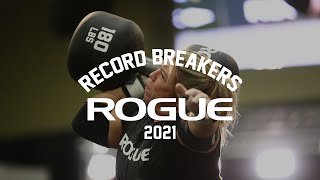 2021 Rogue Record Breakers Qualifier   Event 8 - Women's Monster Dumbbell Press