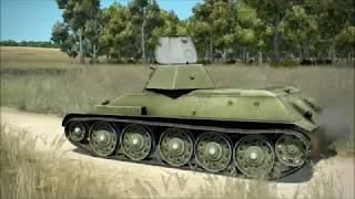 IL- 2 Sturmovik   Tank Crew : Tank Treads and Trees Braking