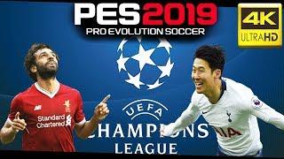 PES Predictions Champions League Final | Liverpool vs Tottenham | 4K GAMEPLAY