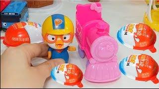 Season Surprise Eggs Toy Play alkkagi pororo Kinder Joy Surprise eggs Toys Play alkkagi