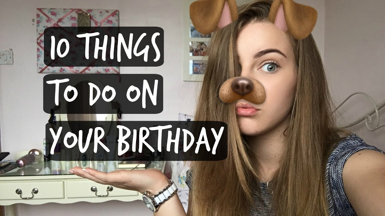How To Celebrate Your Birthday Wikihow