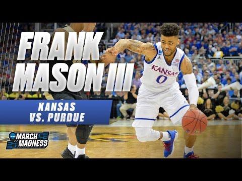Purdue vs. Kansas: Frank Mason III scores 26 points, 7 assists