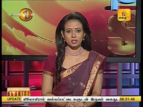 News 1st Prime time Sunrise Shakthi TV 6 45 AM 02nd January 2017