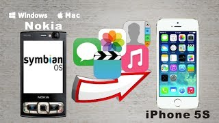 [Symbian to iPhone 5S Data Transfer] Sync All Contacts/SMS/Photos/Music to iPhone 5S from Symbian
