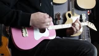 Loog Pro Acoustic | 3 String Kids Guitar | Music Junction