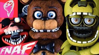 SFM FNAF FIVE NIGHTS AT FREDY s SONG BUILT IN THE 80 S FNAF SONG by Griffnilla