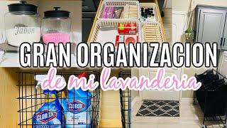 ORGANIZACION DE LAVANDERIA, Ideas para organizar la lavanderia Motivacion para Organizar lavanderia.