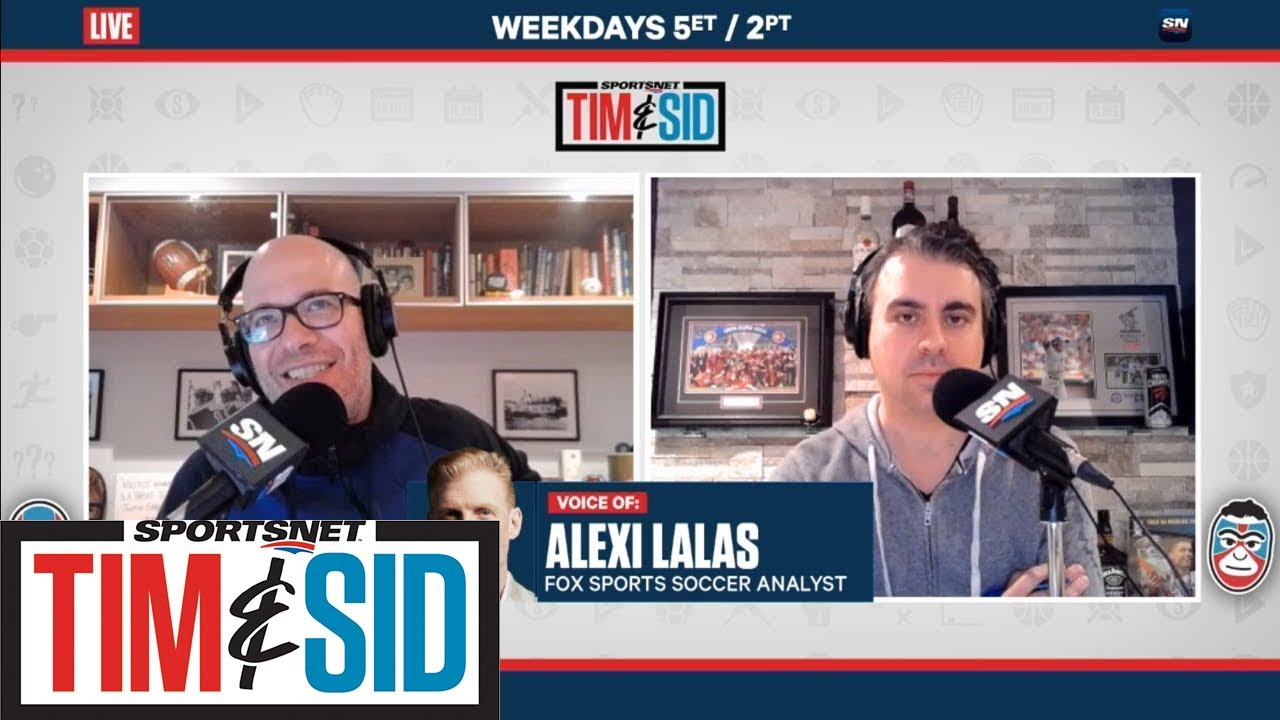 "Alexi Lalas On Alphonso Davies: ""This Is A Great Player"" 