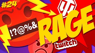 #24 Rage & Streamers 😡   Best Angry Moments   World of Tanks