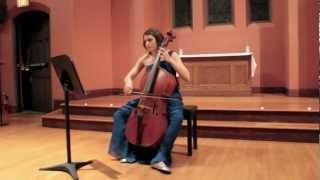 Domenico Gabrielli - Ricercar no. 7 on Baroque Cello