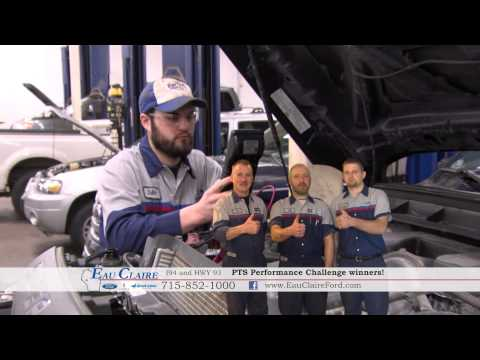 PTS Performance Challenge Winners at Eau Claire Ford Lincoln Quick Lane