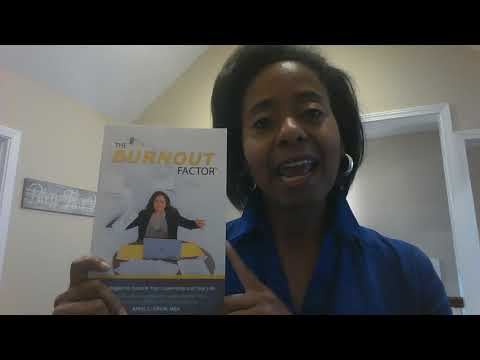 Sharing My New Book! The Burnout Factor