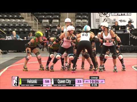 Game 14: Helsinki Roller Derby v Queen City Roller Girls