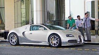 Bugatti Veyron 16.4 Grand Sport Start up + Take off in Dubai, UAE (100th Video Special)