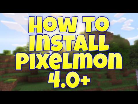 How to Install Pixelmon 4.0+ Tutorial [Pc + Mac]