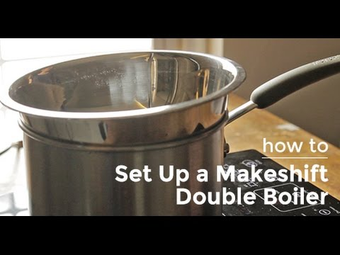 How to Set Up a Makeshift Double Boiler Yummy Ph YouTube