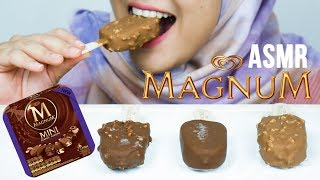 #58 Request ASMR Eating Sounds: Magnum Ice Cream || No Talking ASMR Indonesia