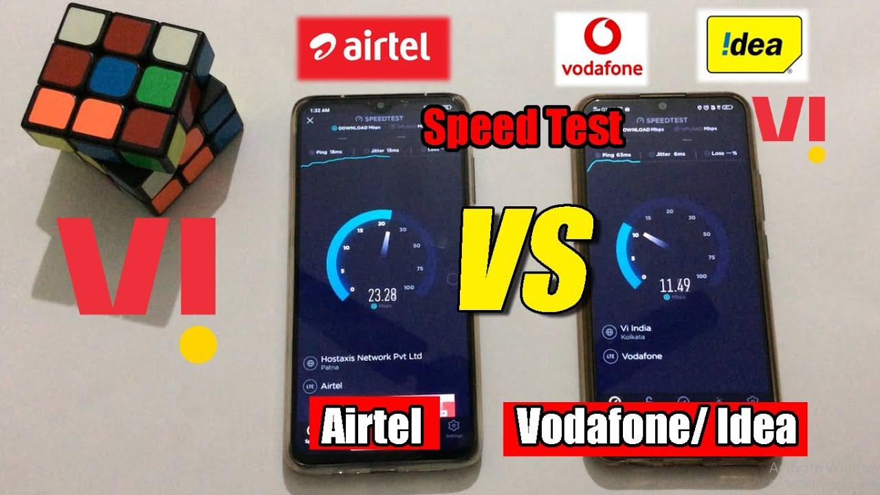 Unbelievable !!! Vi (Vodafone Idea) Vs Airtel Sim Internet Speed Test | ⚡⚡ Who WINS !! Vi Speed Test