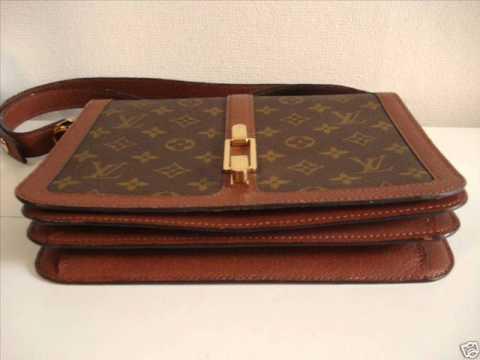 Louis Vuitton Authentication - ITEM 8 1970s Louis Vuitton Ladies Handbag -  REAL or FAKE    - YouTube 91639a08e2fae