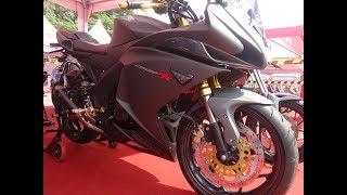 Honda CB150R Full Fairing Modif Bergaya CBR250RR Mp3