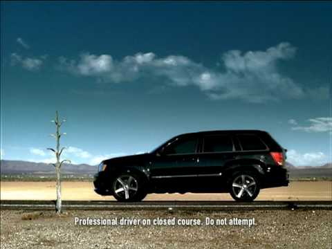 Jeep Grand Cherokee SRT8 launch TV commercial