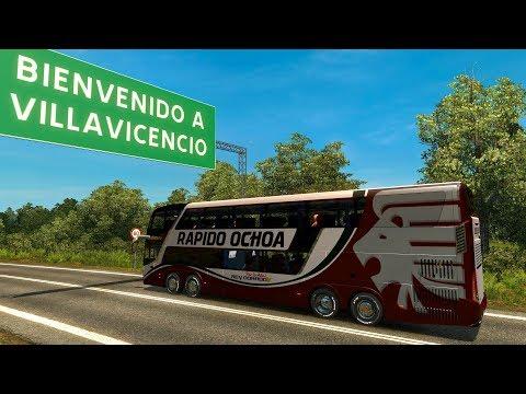Bus Modaza Zeus 3   COLOMBIA   De Bogotá a Villavicencio