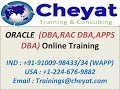 Oracle Apps DBA Online Training by Cheyat Tech