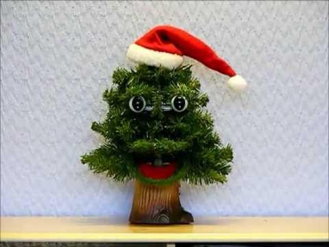 Douglas Fir Singing Christmas Tree - YouTube