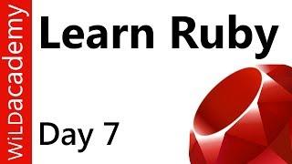 Ruby Programming - 7 - Write a Hash
