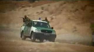 مشادات بين عناصرالدرك الوطني و الجماعات الارهابية في الصحراء الجزائرية ب