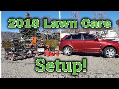 2018 Lawn Care Setup! | Lawn Care Setup 2018