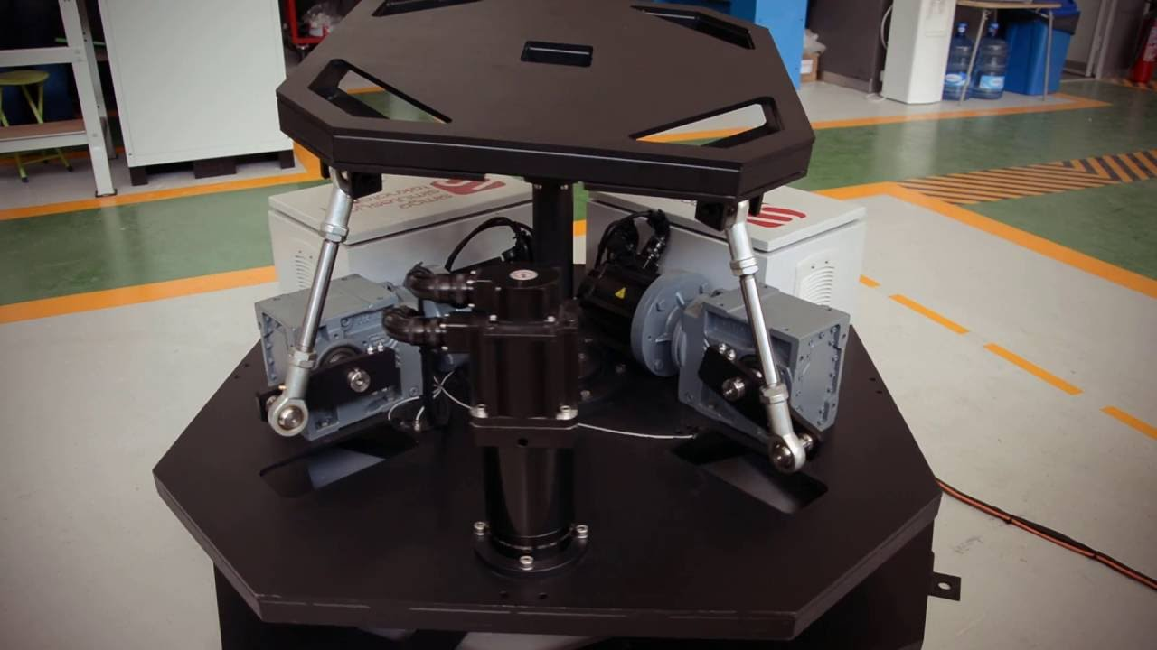 Simge Simulation 2 Dof Motion Platform 2 Eksenli