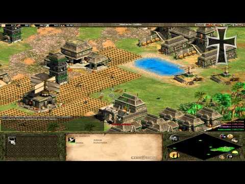 """Age of Empires II: The Conquerors - Moctezuma Misión 1: """"Reinado sangriento"""" (Parte 1)"""