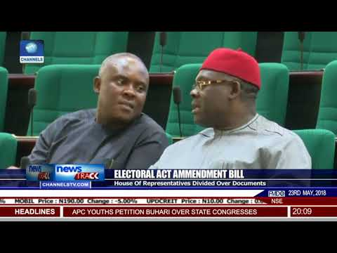 House Of Reps Divided Over Electoral Act Amendment Bill
