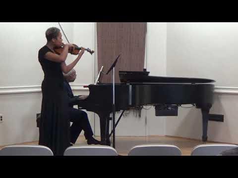 'Sonata in G für Violin and Klavier' (Johannes Brahms) - Danielle Beton, violin