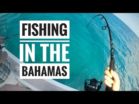 Fishing In The Bahamas - April 2018