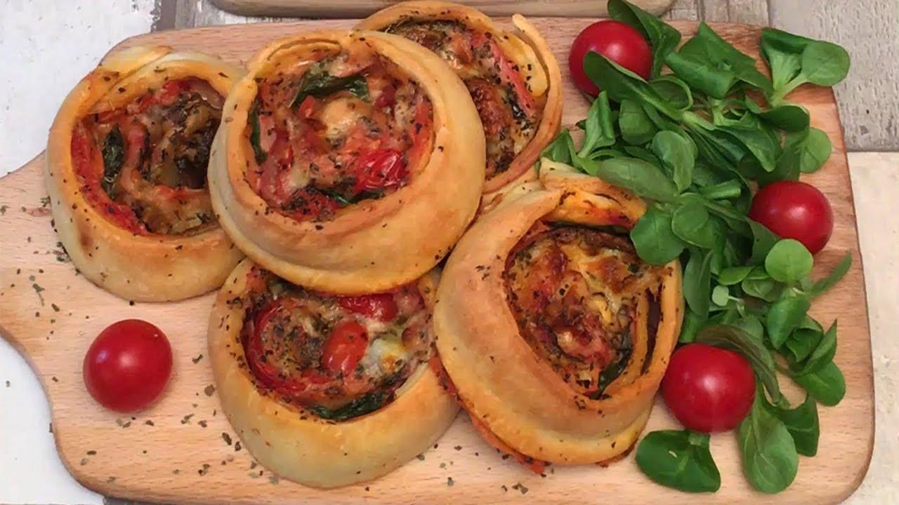 Une Pizza Roulee A Partager 5 Recettes Pour L Apero Facon Chefclub