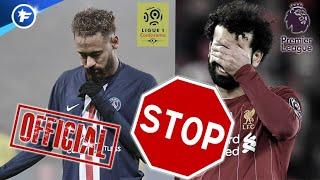 OFFICIEL : la Ligue 1 et la Premier League suspendues | Revue de presse