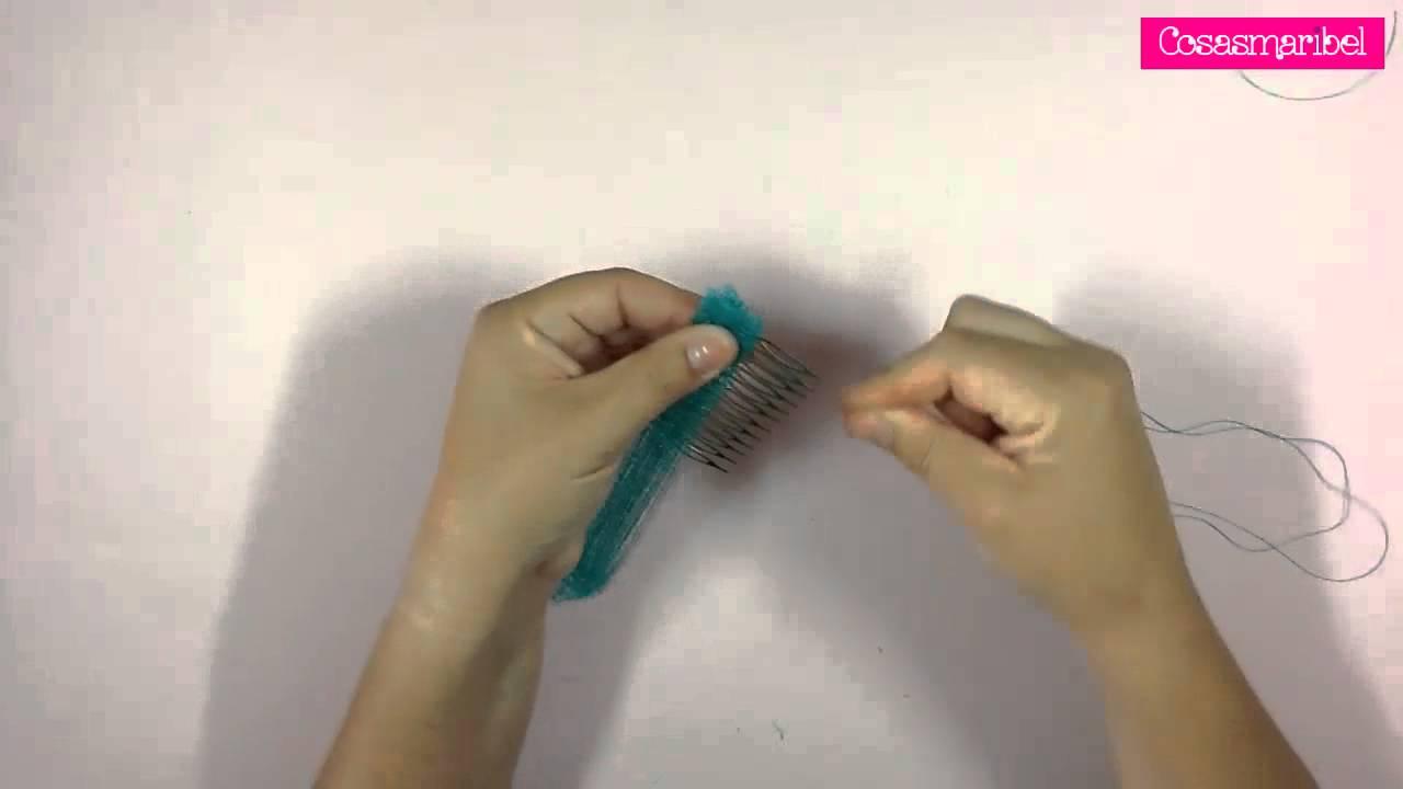 Como hacer tocados de sinamay para madrinas o invitadas - Como hacer farolillos de feria ...
